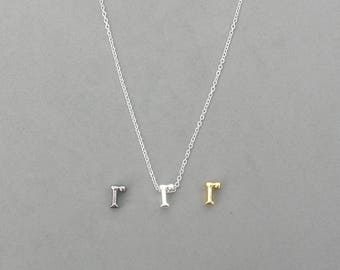 Initial r Necklaces