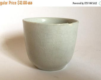Antique 1800's English Ironstone Pottery Cup
