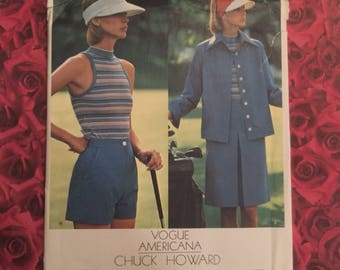 70's Vintage Vogue Americana Chuck Howard Seeing Pattern