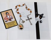 Unbreakable Catholic Chaplet of Blessed Julian of Norwich - Patron of Cats