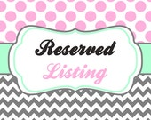 Reserved for Mia