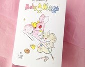 The Adventures of Ruby & Mags II - mini foldy zine by Lilly Piri