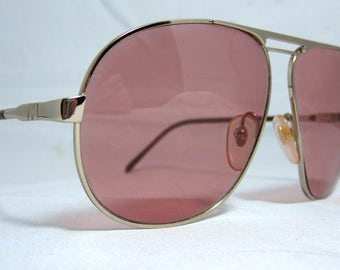 Vintage Sunglasses. Aviator Sunglass Frames
