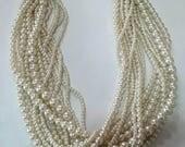Destash, vintage pearl multi strand necklace