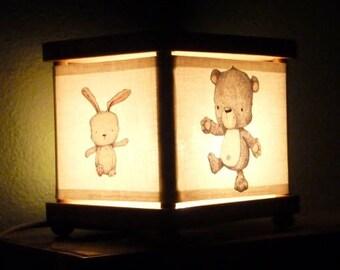 Pig Night Light Hedgehog Bear Rabbit Snuggle Buddies Nightlight