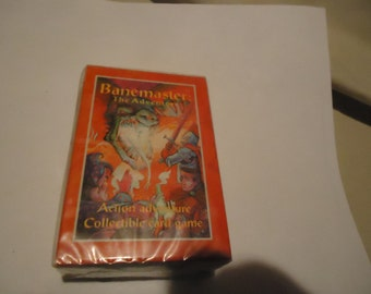 Vintage 1995 Banemaster The Adventure  Deck Card Game Sealed In Package, collectable
