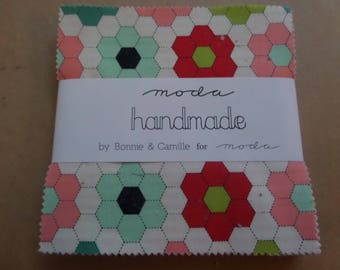 Handmade Charm Pack by Bonnie & Camille for Moda Fabrics