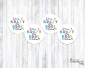 Hope you a KRAZY KOOL summer! Summer printable tags
