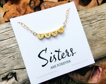 Heart Initial Necklace,Monogram heart Necklace,Couple initials,Family initial Necklace,hand stamped initial,Mother jewelry,Bridesmaid gifts