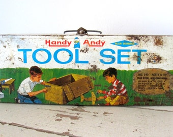 Vintage Handy Andy Tool Box