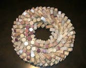 Make Your Own Wine Cork Wreath or Centerpiece: DIY Kit with Supplies and Instructions