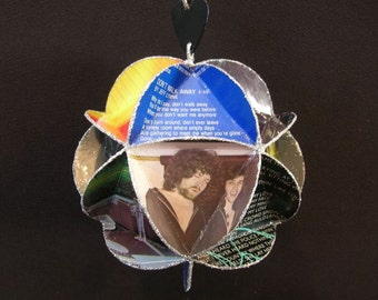 ELO Electric Light Orchestra Album Cover Ornament Made Of Record Jackets - Jeff Lynne