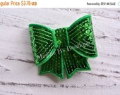 "CLOSING SALE Sequin Hair Clip-sequin sparkle bow headband-3"" bow-made by Maddie B's Boutique on Etsy"