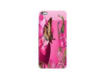 iPhone 6 case iphone 6S case iphone 6 plus case iphone 7 case mobile phone Apple iphone 7 plus case cover butterfly pink flower sweet heart