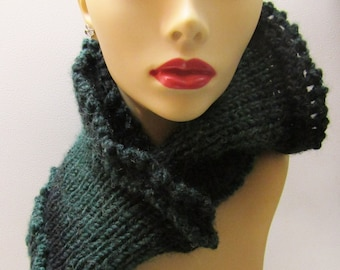 Black Forest Green Medium Cowl