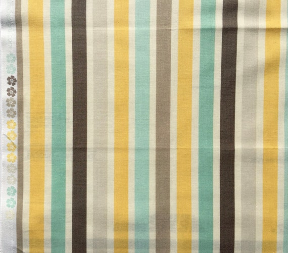 Seaside October Afternoon Riley Blake fabric stripes FQ or more