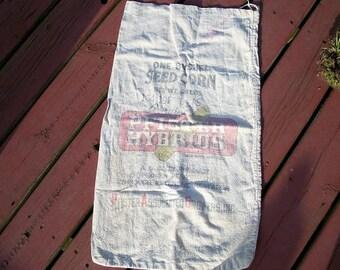 Vintage Pfister Hybirds Seed Bag Grain Bag Hybrid 56 Pounds Corn