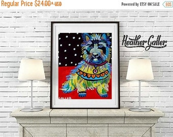 50% Off Today- art Art Print Poster by Heather Galler Cairn (HG135)