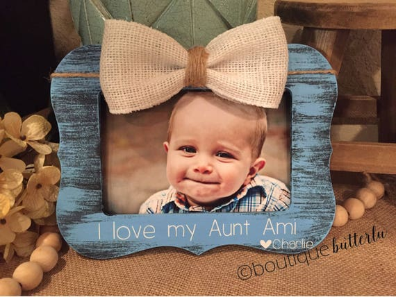 Aunt Gift Aunt Picture Frame Auntie Sister Gift Frame Great