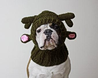 Santa's Little Helper Reindeer Dog Hat