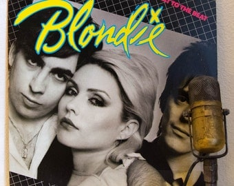 """ON SALE Vinyl Record Album Blondie 1970s New Wave Rock and Roll  """"Eat to the Beat"""" (Original 1979 Chrysalis, color inner sleeve and """"Dreamin"""