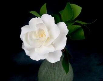 The  Royal Rose - Handmade Paper Flower  - set of 3 flowers  - Stems Included -  Custom order available