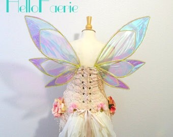 Winx Bloom Fairy wings Iridescent Cosplay Wings