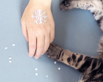 Half Hearted Catmas Advent Calendar - temporary tattoos - enamel pin