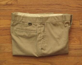 vintage Lee khaki work pants