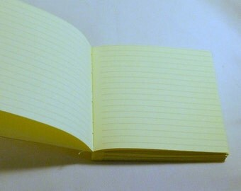 Lined Paper Choice For Text Block of Custom Hand Made Journals PM#lined