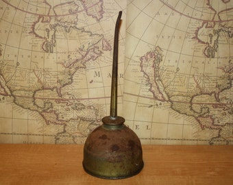 Vintage Eagle Oil Can - item #2346