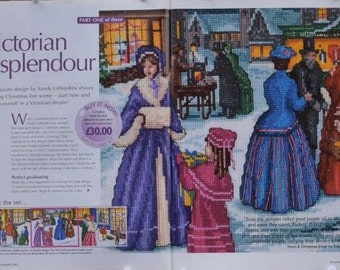 TTK 104 – Victorian Splendor Series– Cross Stitch Collection Magazines – November, December & Christmas Edition