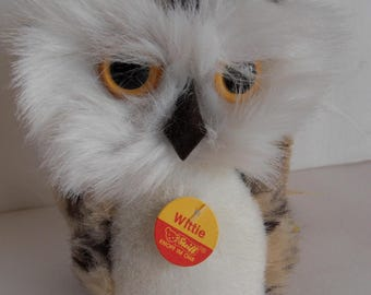 Steiff owl all Ids small  made in Germany 2066