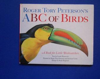 ABC of Birds, a Vintage Children's Alphabet Book, Roger Tory Peterson