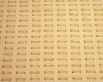 Large Corner Piece, Light Gold Buttonhole Morgan Jones Vintage Chenille Bedspread Fabric