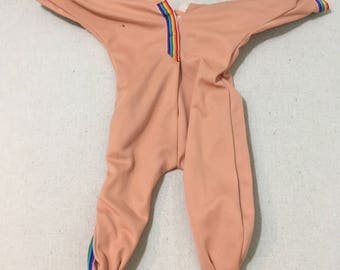 Vintage Cabbage Patch Kids Poseable Jumpsuit Outfit