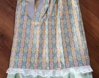 Pillowcase dress sz. 5-6 floral