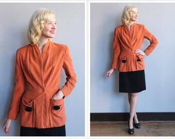 1940s Jacket // Petite Lady Modes Jacket // vintage 40s jacket