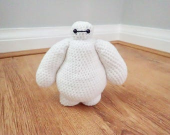 Baymax Amigurumi Crocheted Plushie Figure Big Hero 6