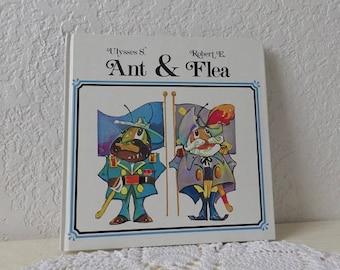 Children's Book: Ulysses S. Ant & Robert E. Flea. Hardcover Board Book by Tom LaFleur.  Hard to find.