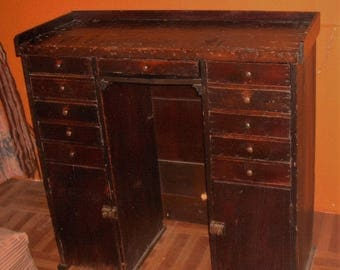 Watchmakers Cabinet Desk