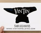 RESERVED LISTING Great Anniversary Gift, Hand Forged Iron Initial Sign by VinTin
