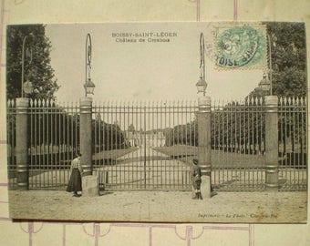 Chateau de Grosbois - Early 1900s - Antique French Postcard