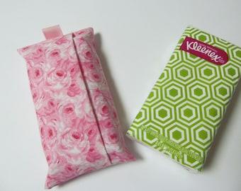 Tissue Case/Pink Rose