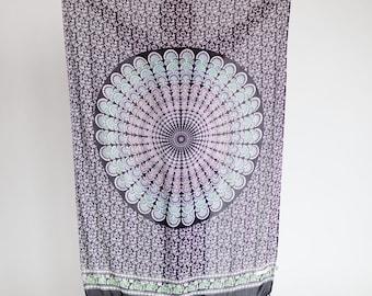 The Nebula Dreamer Sarong // Beach Boho Pareo, Wrap, Blanket, Wall Hanging, Tapestry, Scarf, Towel