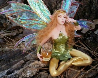 MidDreamers Ooak Gemstone fairy Citrine