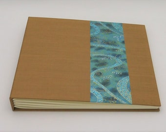 8x10 Photo Album, Scrapbook, Earth and Water, In Stock