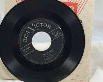 Sunny Gale RCA Vicor 45 vinyl Record Love Me Again Before It's too Late HugoWinterhalter conductor