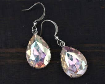 Holographic Unicorn Tears Earrings