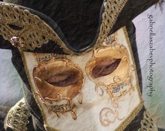 "Carnival of Venice, Mask Photos, Venice Photography, Italy Photography,- ""Carnevale di Venezia - Bauta Mask Baroque"""""